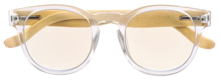 Clear digital glasses