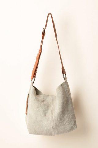 Juju & Co Baby Jute Bag in Ash