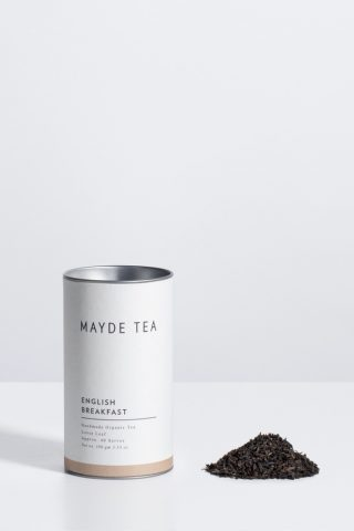 Mayde English breakfast loose leaf tea