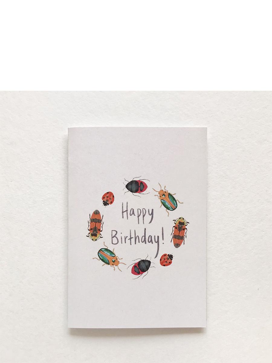 Happy Birthday Beatle Gift Card
