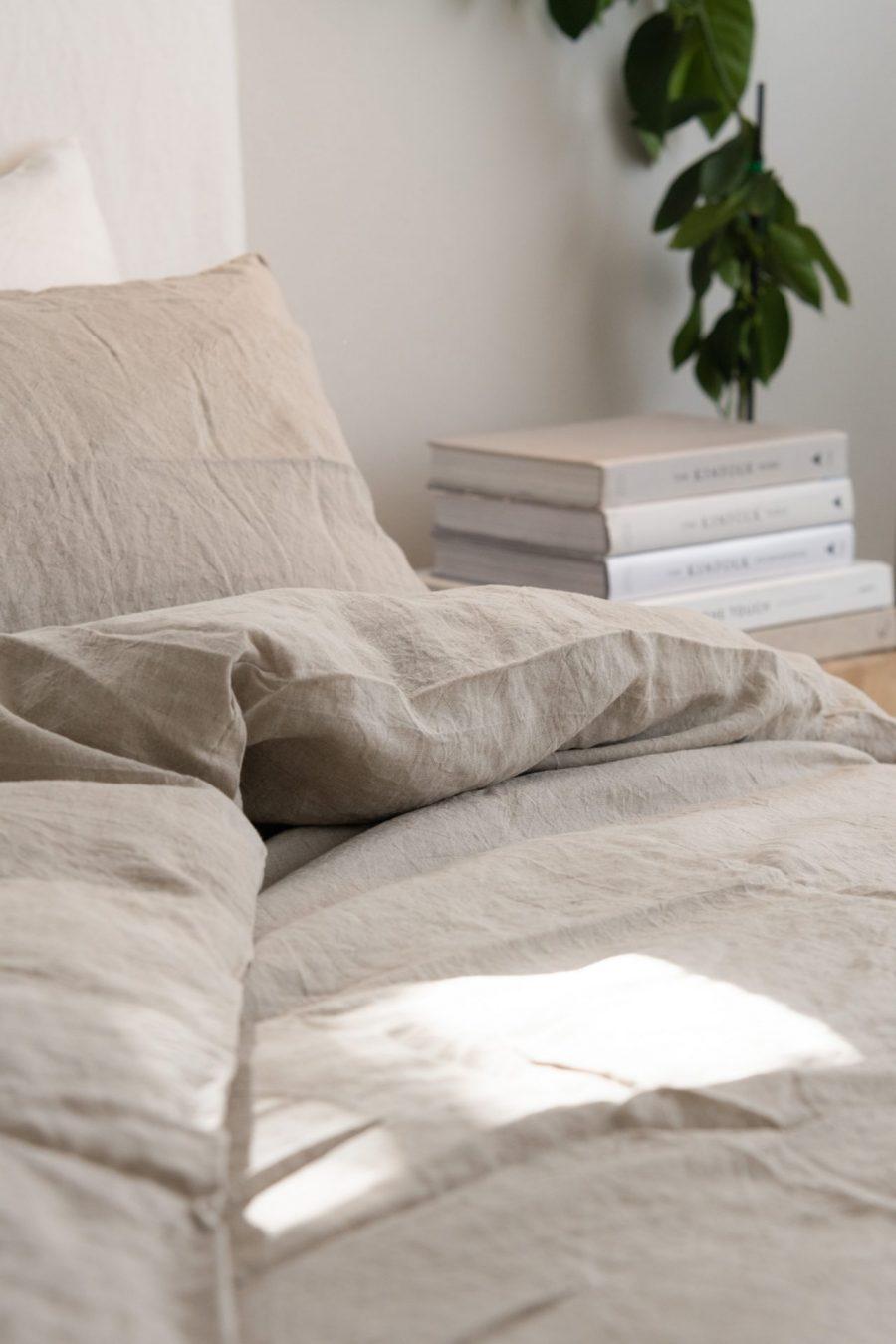 Moss Living natural Linen Duvet_JadeFerguson