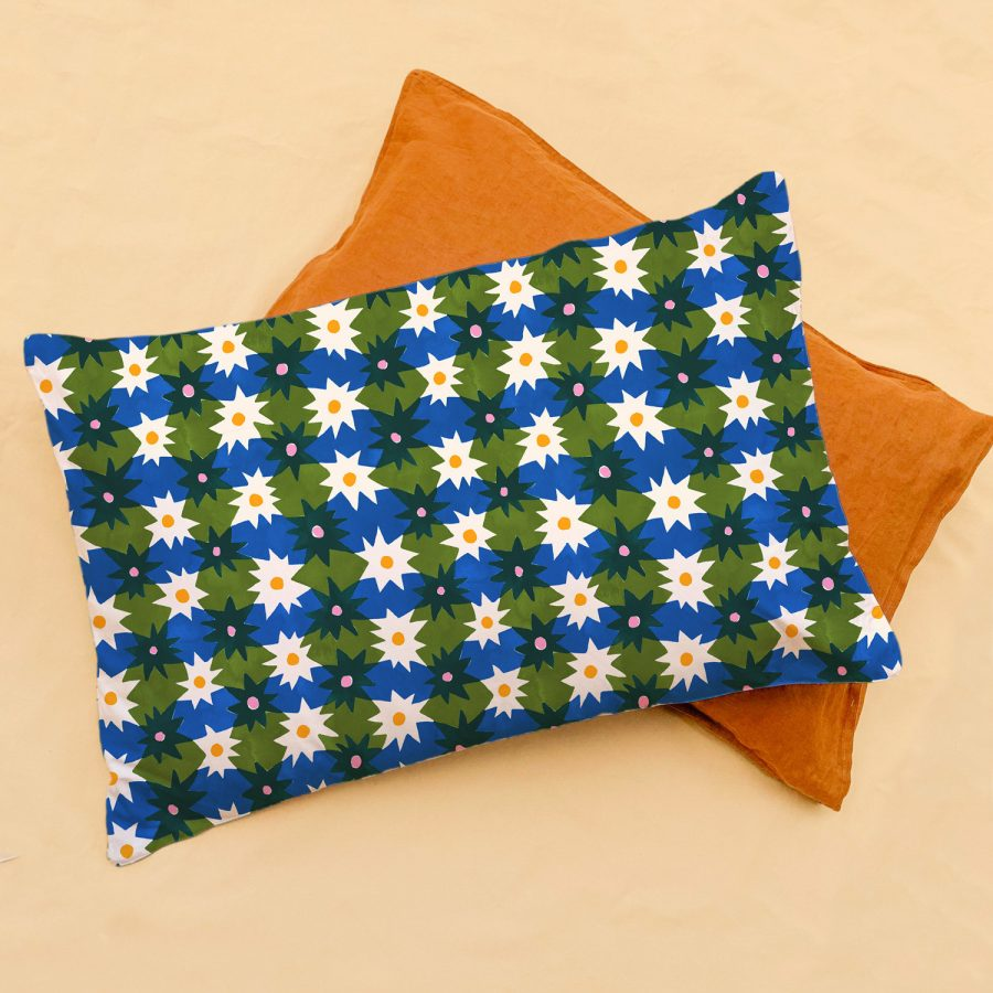 Hand painted Togetherness pillowcase