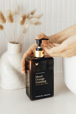 Vanessa Megan foaming hand and body wash Blood orange