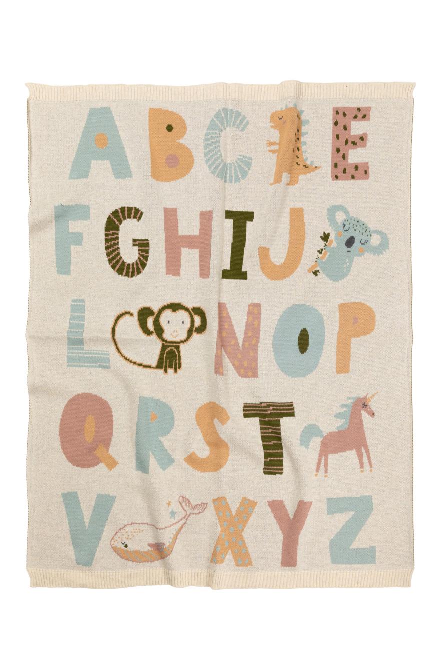 Indus alphabet blanket