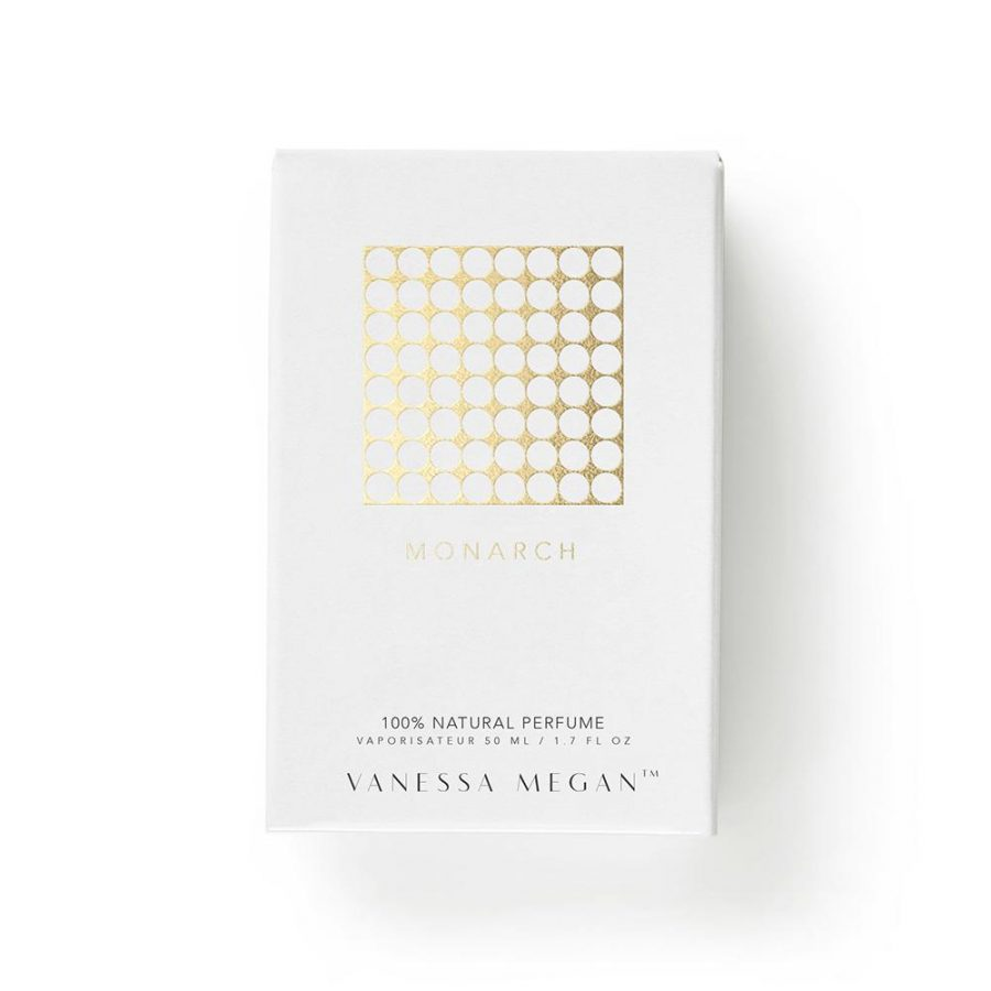 Monarch Vanessa Megan natural perfume 50ml box